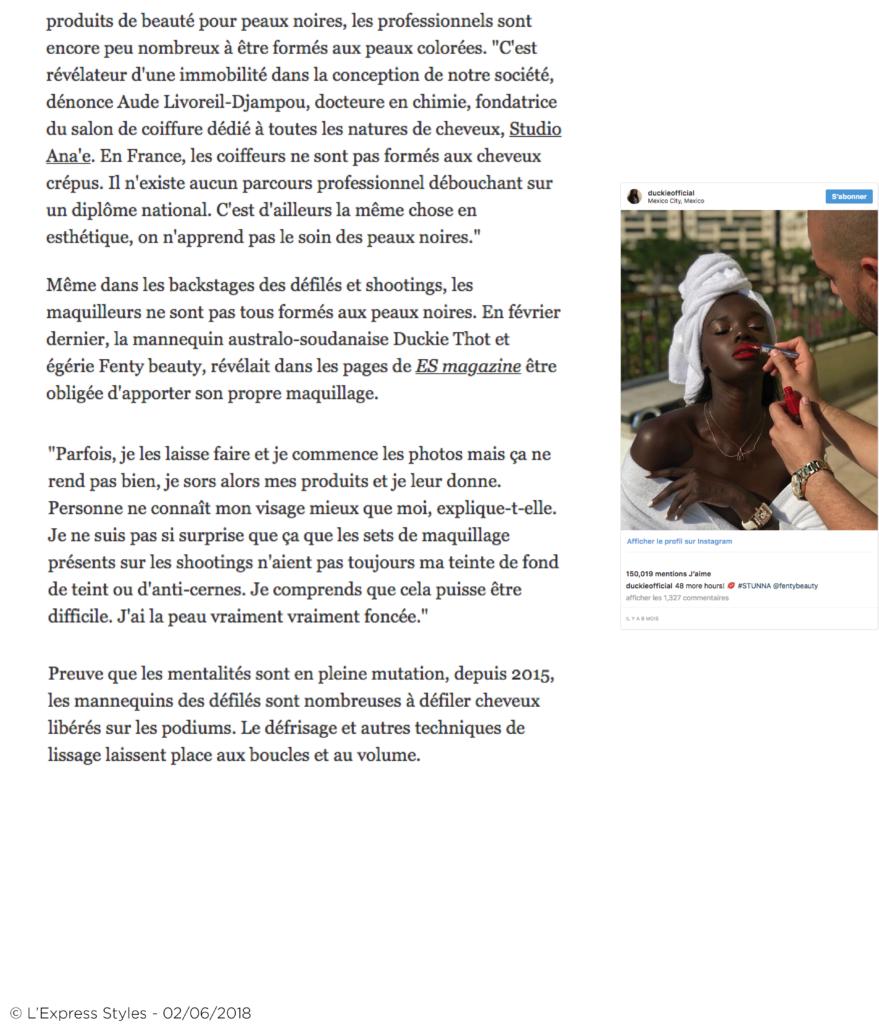 PAGE BLOG 46-L'Express Blog - Beaute femmes Noires et Metisses, le reveil des marques5