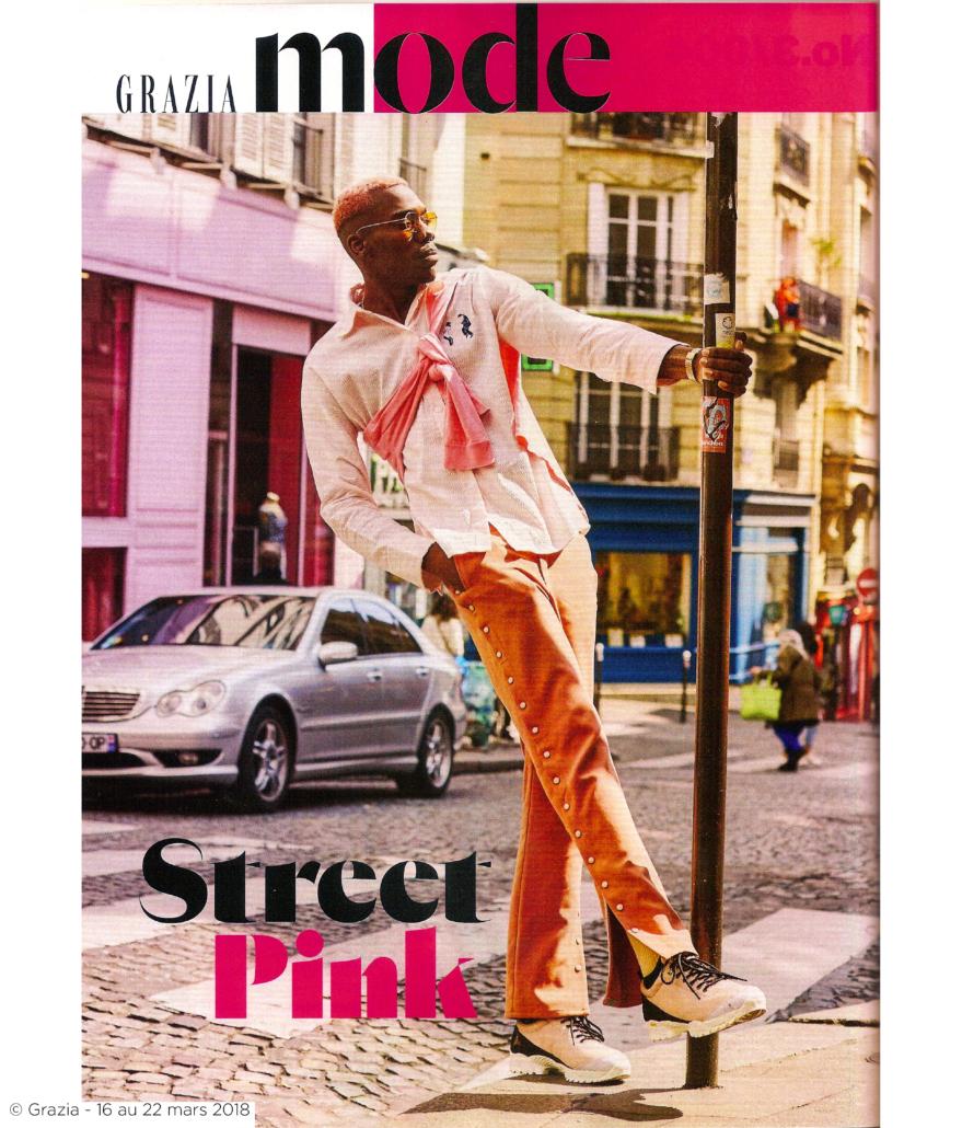 PAGE BLOG Grazia - Street pink