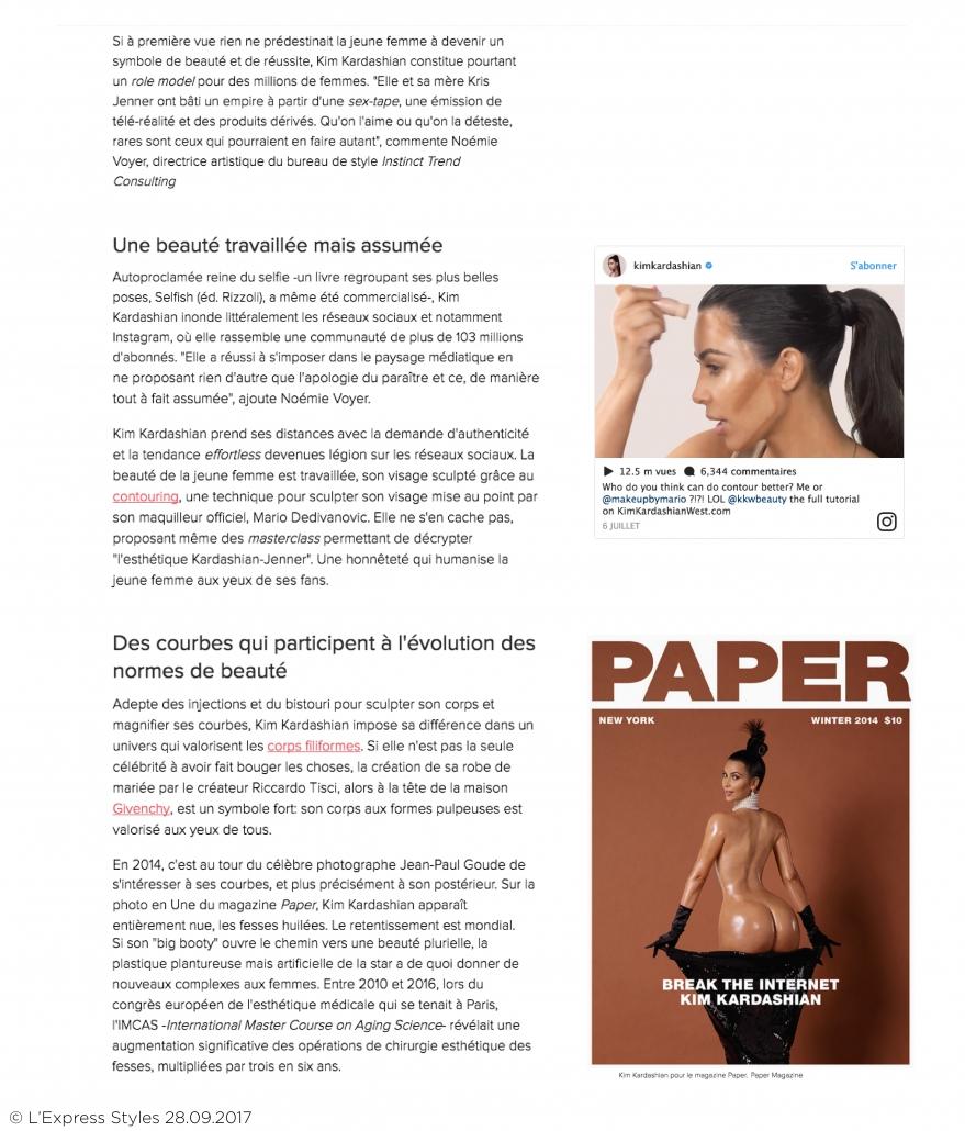 PAGES BLOG-L'EXPRESS STYLES Kim Kardashian2